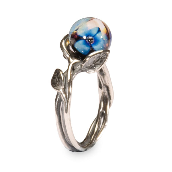 Blue Flower - Ring