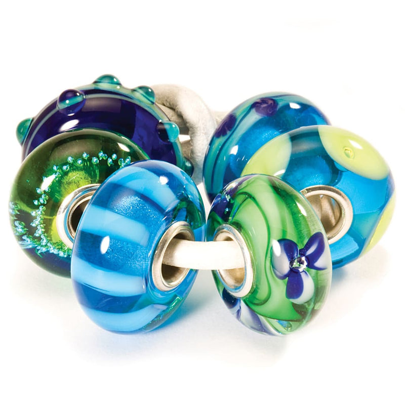 Blue Green Kit - Bead/Link