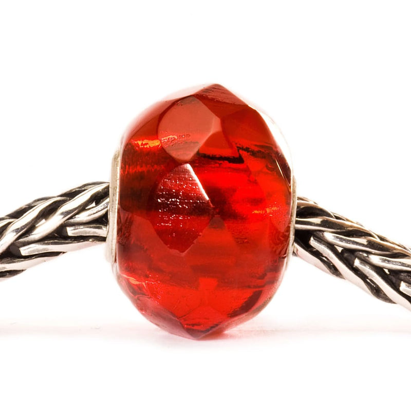 Bright Red Prism - Bead/Link