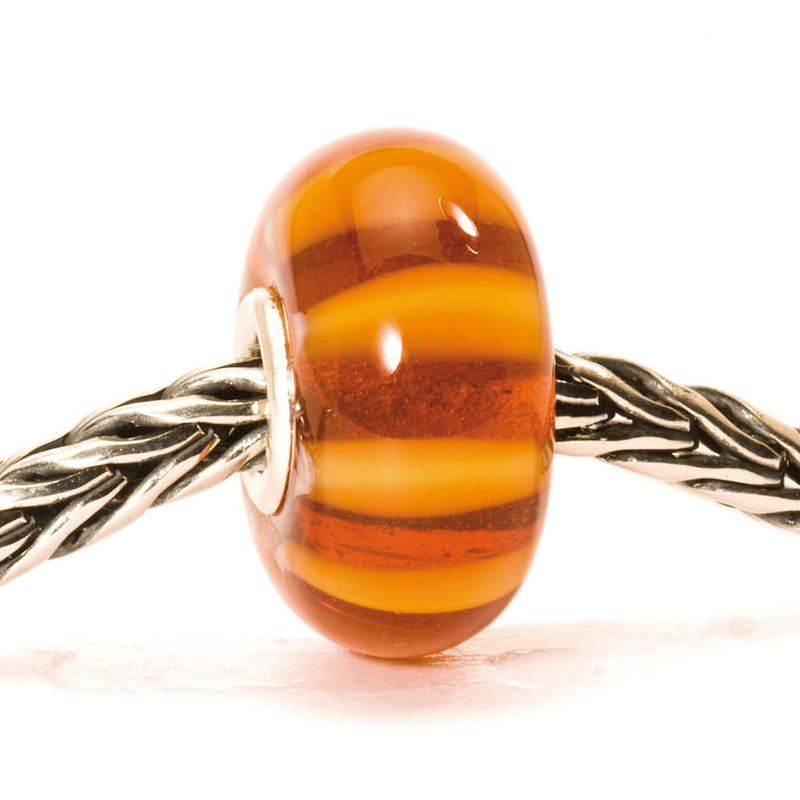 Brown Stripe - Bead/Link