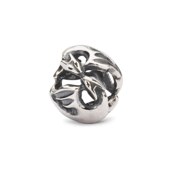 Dancing Dragons - Sterling Silver - Bead/Link