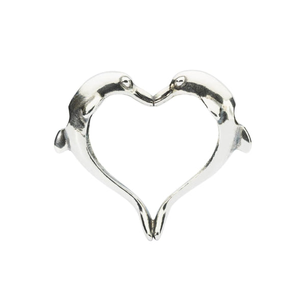 Dolphins Heart - Pendant