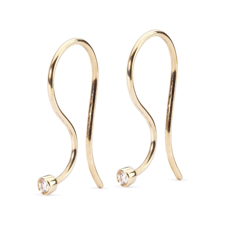 Earring Hooks Gold/Brilliant - Earring