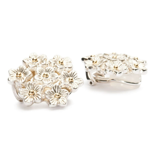 Elderflowers Bunch Earclips - Earring