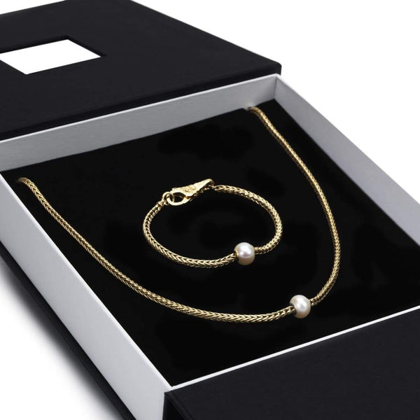 Exclusive Gold Foxtail Gift Set - BOM Bracelet