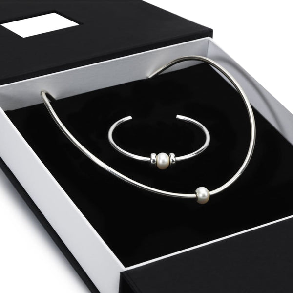 Exclusive Silver Bangle Gift Set - BOM Bangle