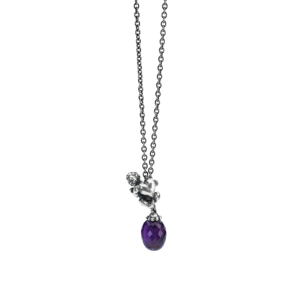 Fantasy Necklace With Amethyst - Fantasy