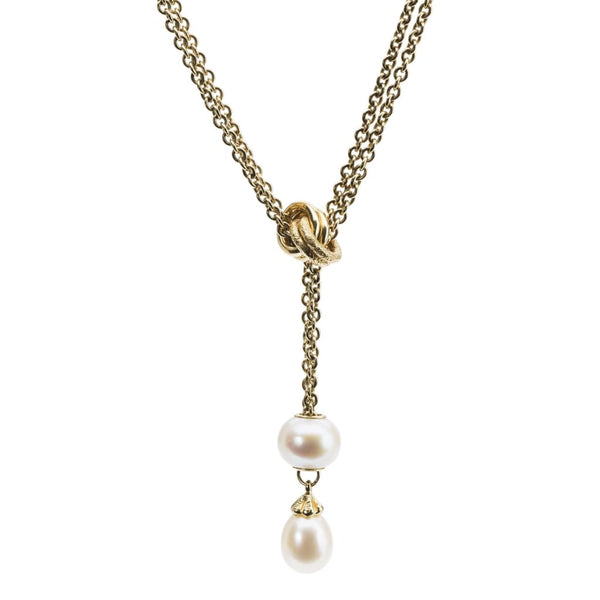 Fantasy Necklace With Pearl Gold - Fantasy