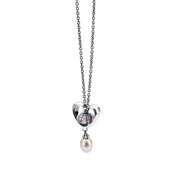 Fantasy Necklace With Rosa Pearl - Fantasy