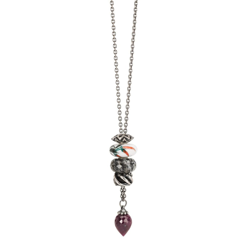 Fantasy Necklace with Ruby - Fantasy