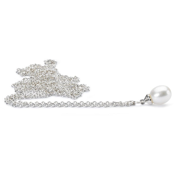 Fantasy Necklace With White Pearl Polished - 90 - Fantasy