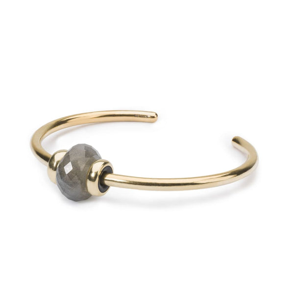 Gold Bangle with Labradorite - BOM Bangle