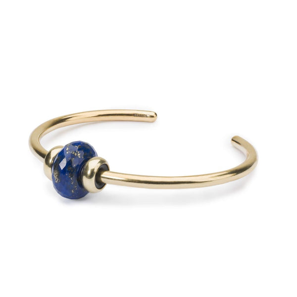 Gold Bangle with Lapis Lazuli - BOM Bangle