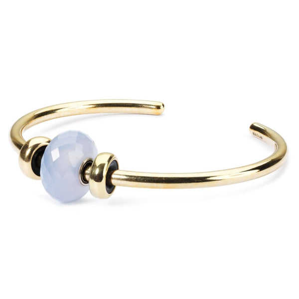 Gold Plated Bangle with 2 x Gold Spacers - BOM Bangle