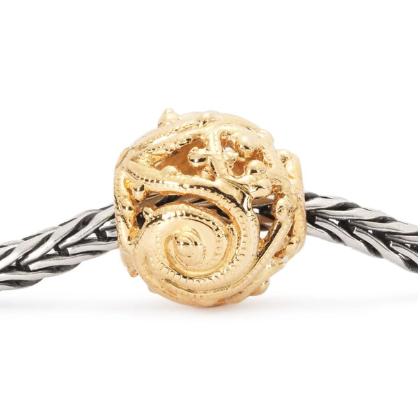 Gold Whorl - Bead/Link