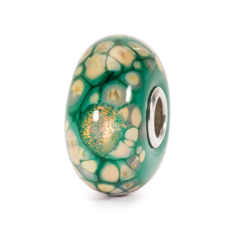 Green Flower Mosaic - Bead/Link