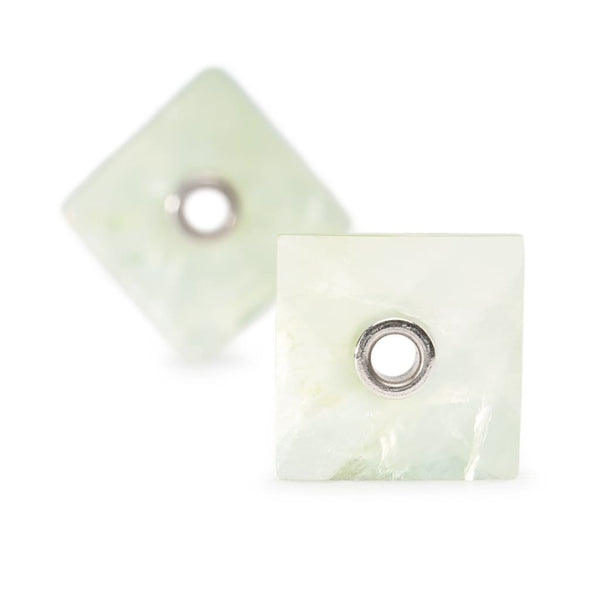 Green Prehnite - Earring