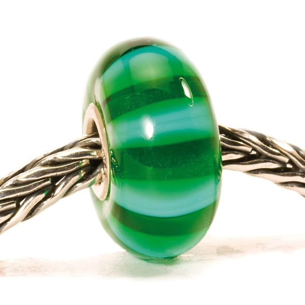 Green Stripe - Bead/Link
