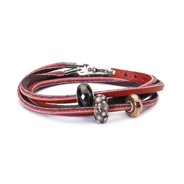 High ball Leather Bracelet - BOM Bracelet