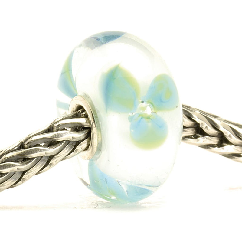 Ice Blue Flower - Bead/Link