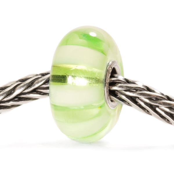 Light Green Stripe - Bead/Link