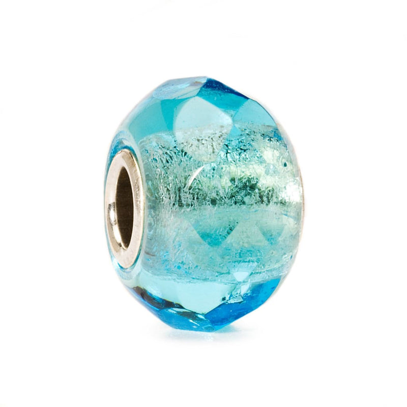 Light Turquoise Prism - Bead/Link