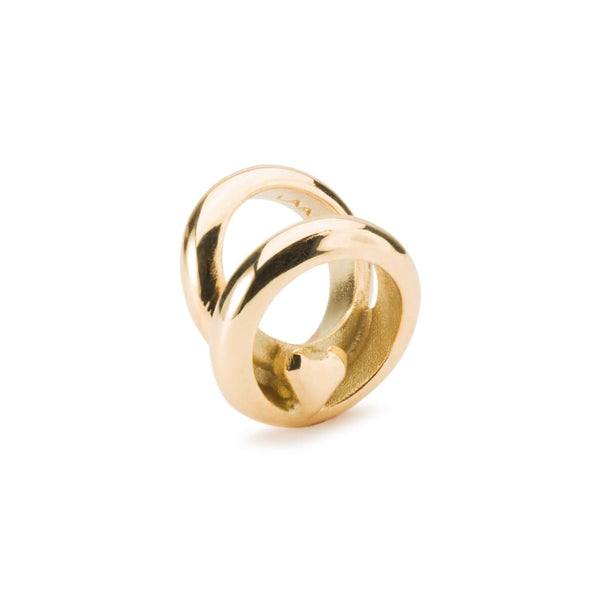 Love Rings Gold - Bead/Link