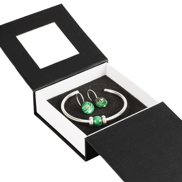 Malachite Gift Set - BOM Bangle