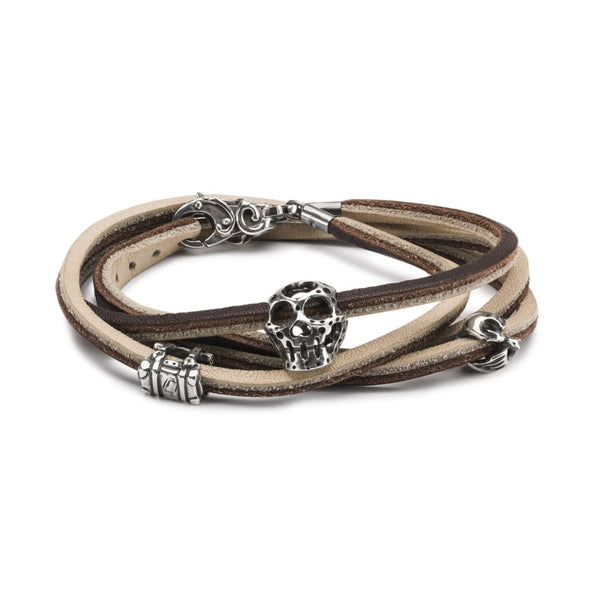 Mythical Travels Leather Bracelet - BOM Bracelet