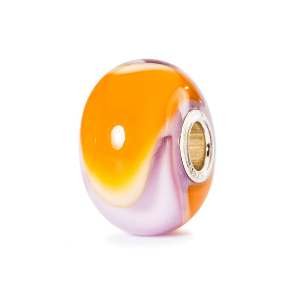 Pink and Orange Armadillo - Bead/Link