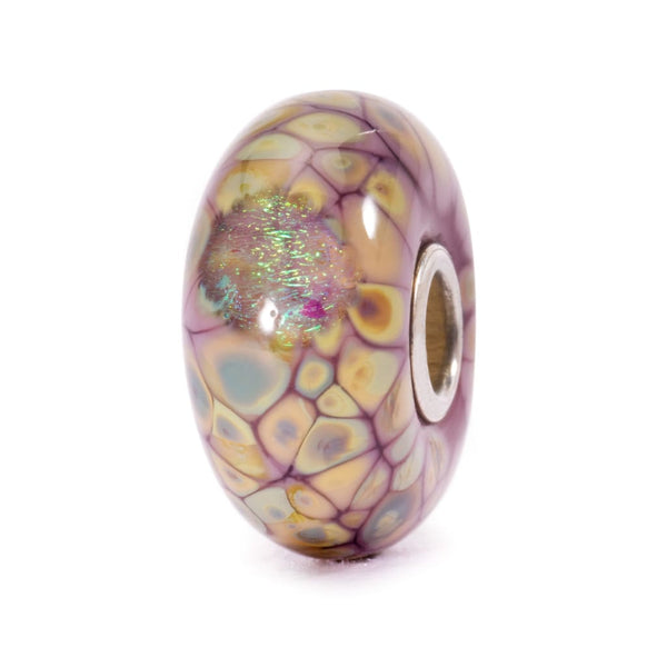 Purple Flower Mosaic - Bead/Link