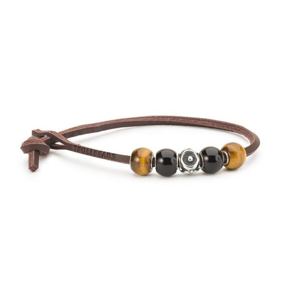 Rocky Leather Bracelet - BOM Bracelet