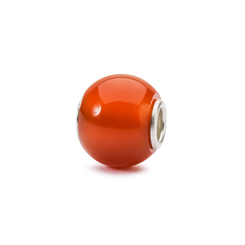 Round Red Onyx - Bead/Link