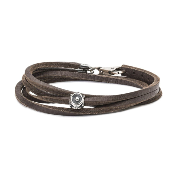 Shield Leather Bracelet - BOM Bracelet