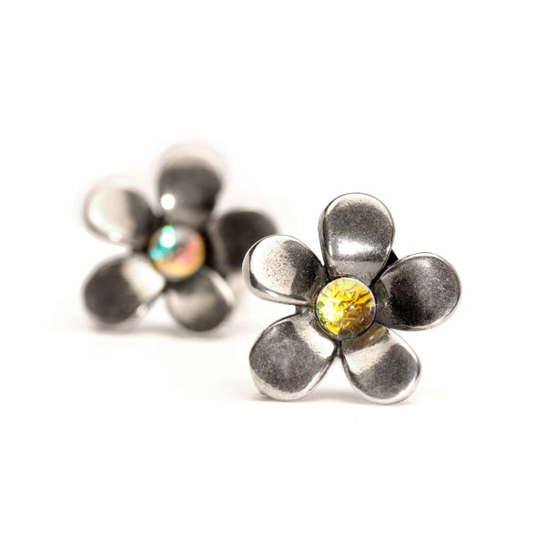 Silver Flower - Earring