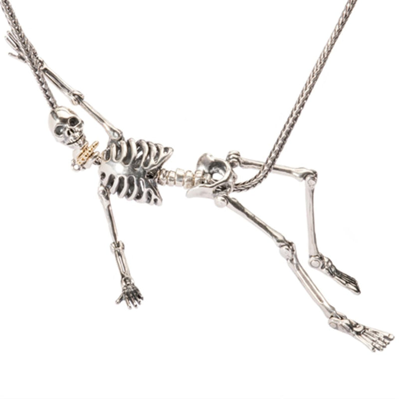 Skeleton Necklace - Bead/Link