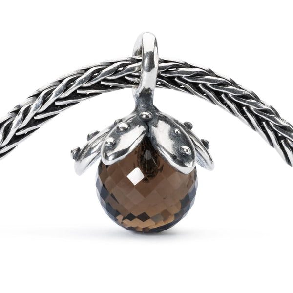 Smoky Quartz Facet Tassel - Bead/Link