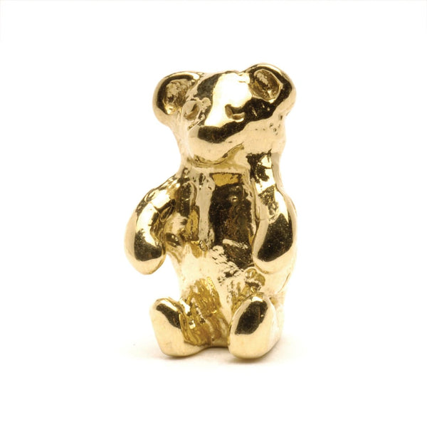 Teddy Bear Gold - Bead/Link
