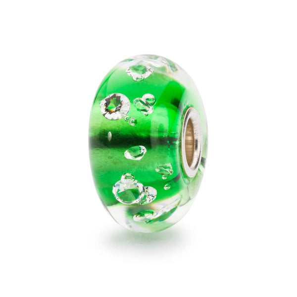 The Diamond Bead Emerald Green - Bead/Link
