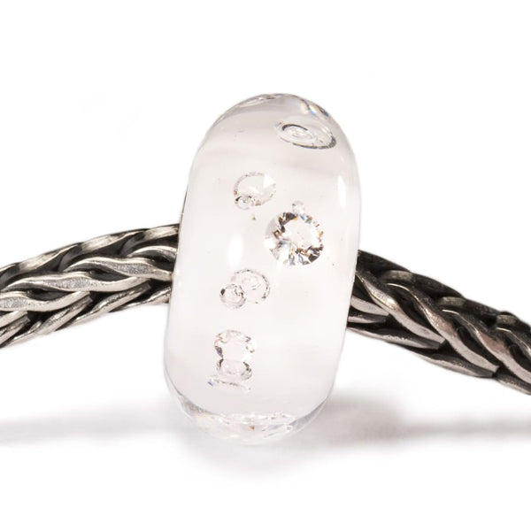 The Diamond Bead White - Bead/Link