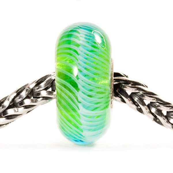 Turquoise Feather - Bead/Link
