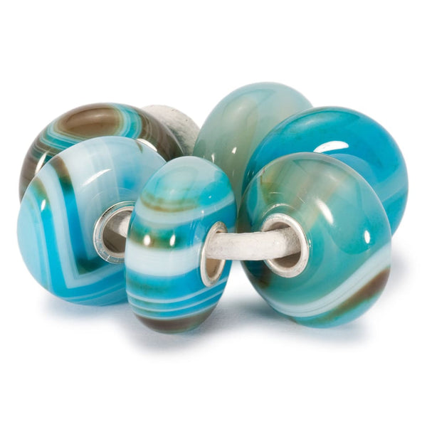 Turquoise Striped Agate Kit - Bead/Link