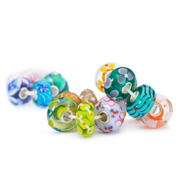 Unique Single Glass Bead - Bead/Link