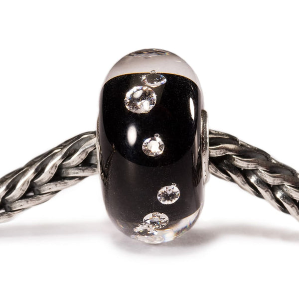 Universal Diamond Bead Black - Bead/Link