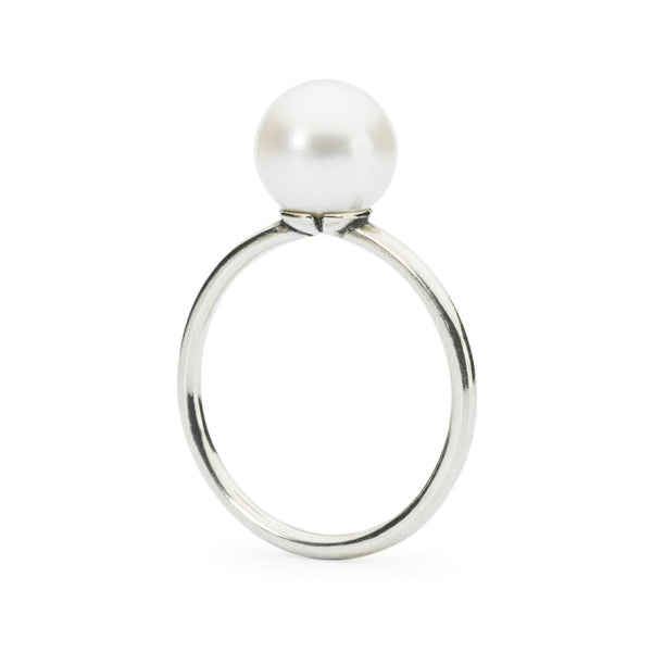 White Pearl Ring - Ring