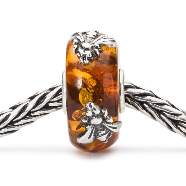 Wings of Amber with Two - Bead/Link
