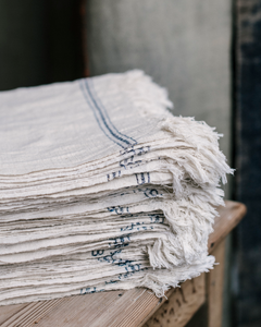 NAPKIN - Natural Cotton - indigo