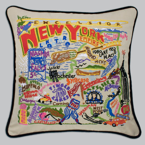 catstudio - New York State Pillow