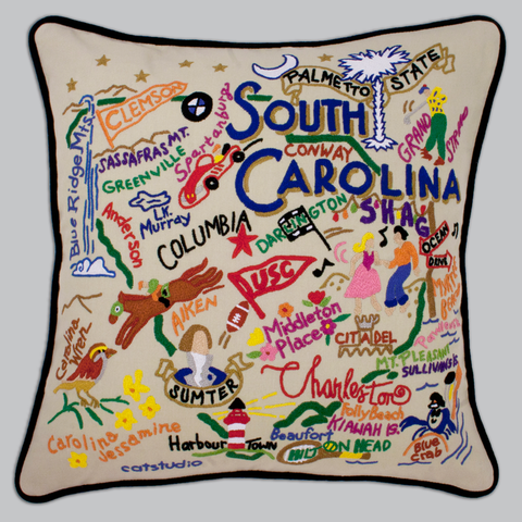 catstudio - South Carolina Pillow