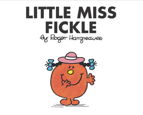 Little Miss Fickle Book